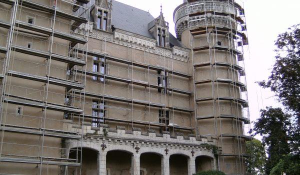 Le Château De Saint Charter, La Châtre, France